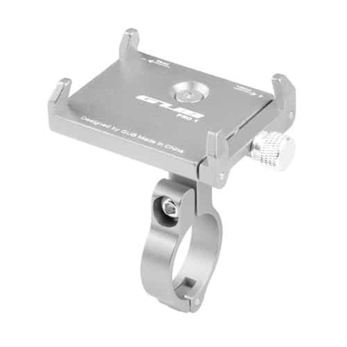 Βάση κινητού τηλέφώνου αλουμινίου GUB Pro 1 AT759 50-100mm για ηλεκτρικό σκούτερ ή ποδηλάτου ασημί