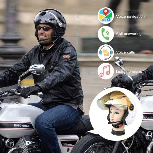 Ενδοσυνεννόηση ΒΤ8 Bluetooth κράνους για ηλεκτρικό σκούτερ ή μηχανής ΟΕΜ