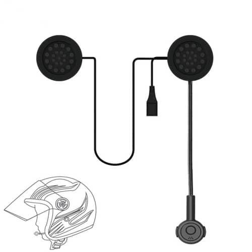 Ενδοσυνεννόηση κράνους MH02 Bluetooth για ηλεκτρικό σκούτερ ή μηχανής ΟΕΜ