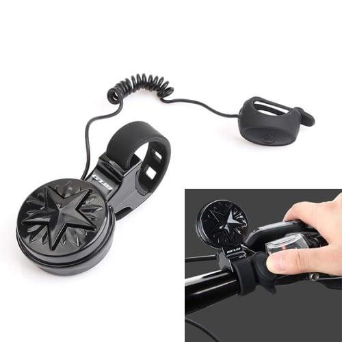 Ηλεκτρικό κουδούνι για ηλεκτρικό σκούτερ ή ποδήλατο GUB Q-200 με ένταση ήχου 100-120dB και 250mAh μπαταρία Usb