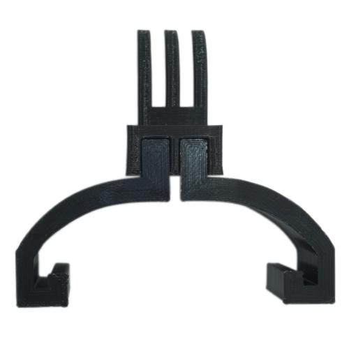 3D printed βάση τοποθέτησης Action Camera GoPro ή άλλης στο πίσω φτερό Xiaomi m365/ m365 Pro - μαύρο