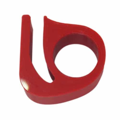 Γάντζος βοηθητικός 3D printed για την λαβή σφιγγτήρα της αναδιπλούμενης βάσης του Xiaomi m365/ m365 Pro - κόκκινο