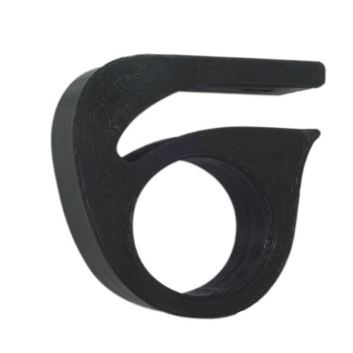 Γάντζος βοηθητικός 3D printed για την λαβή σφιγγτήρα της αναδιπλούμενης βάσης του Xiaomi m365/ m365 Pro - μαύρο